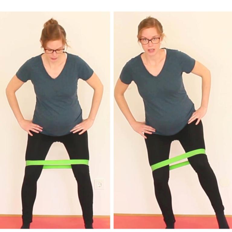 Bewegungsmuster Hüfte Gewichtsverlagerung