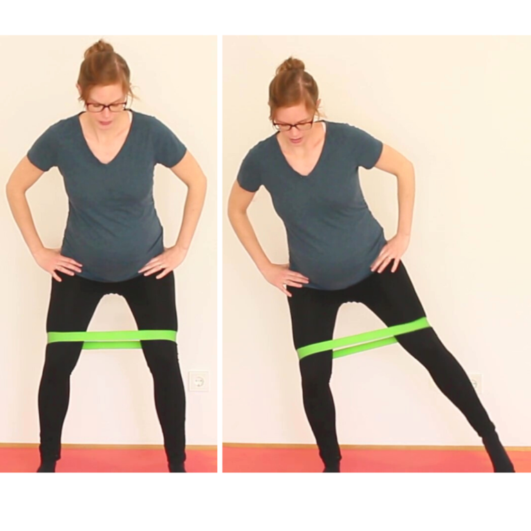 Bewegungsmuster Hüfte Gewichtsverlagerung Tapping