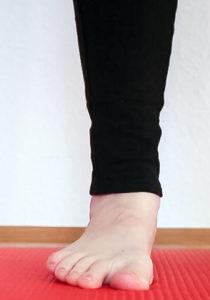 Fersensporn / Plantarfasziitis: Knick-Senk Fuß