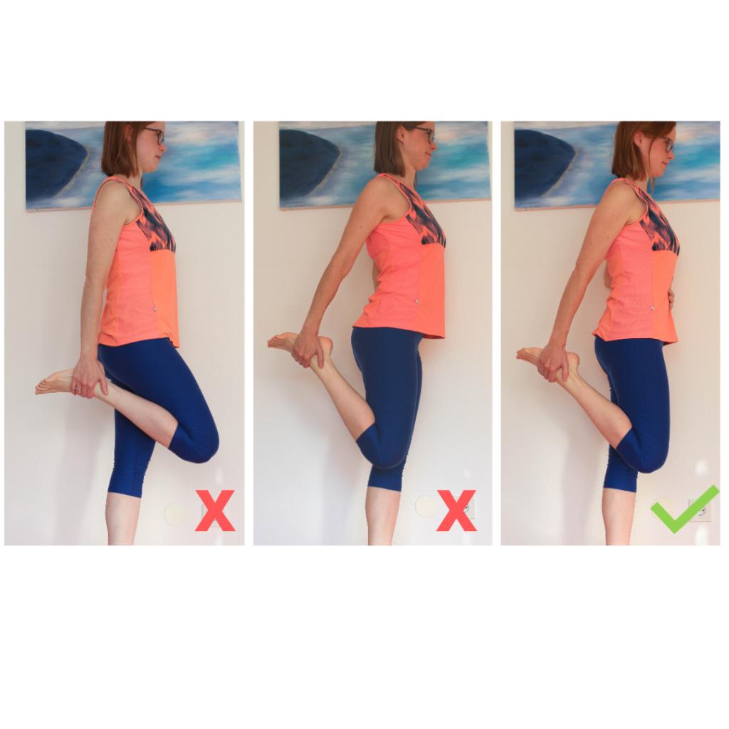 Patellaspitzensyndrom Dehnung Quadriceps