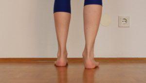 Schmerzen Achillessehne: Pronation dorsal