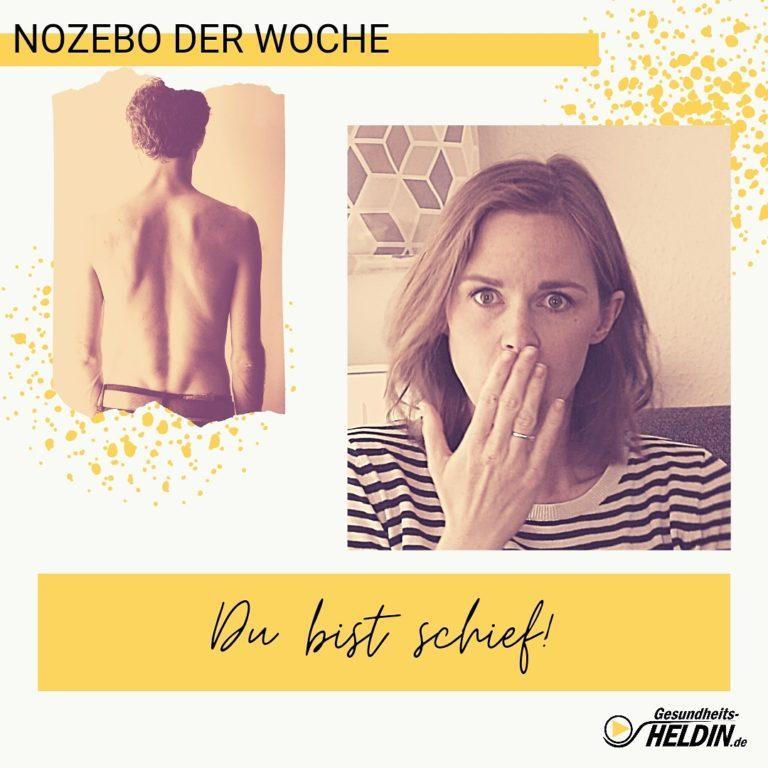 Read more about the article Du bist schief! Schlimm oder nicht?