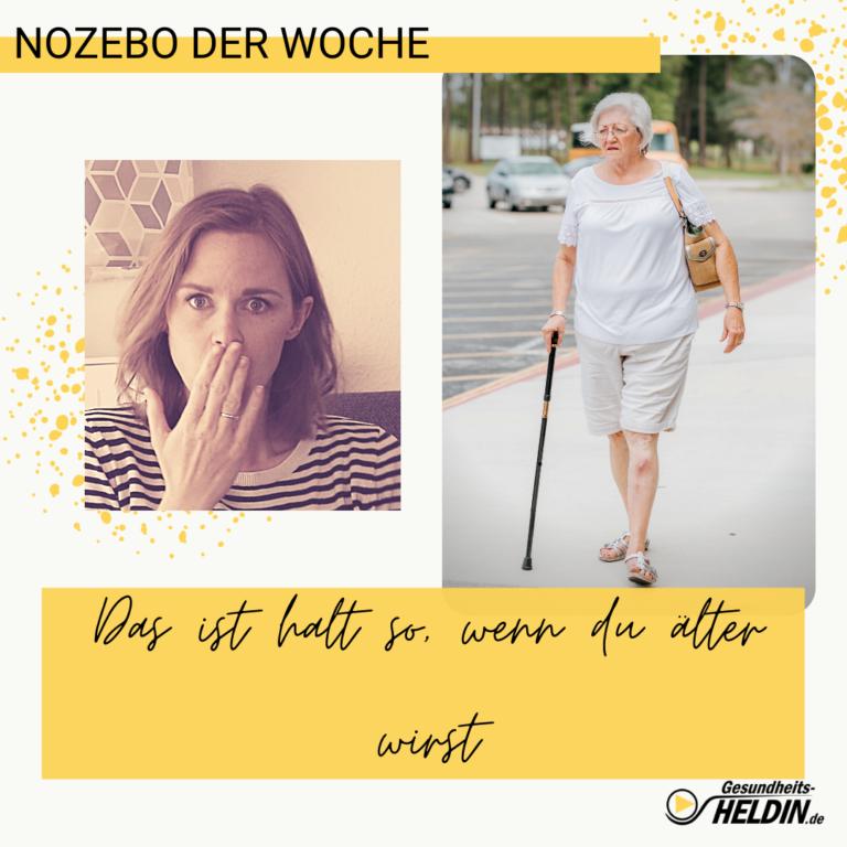 Read more about the article Schmerzen? Das ist so wenn man älter wird!