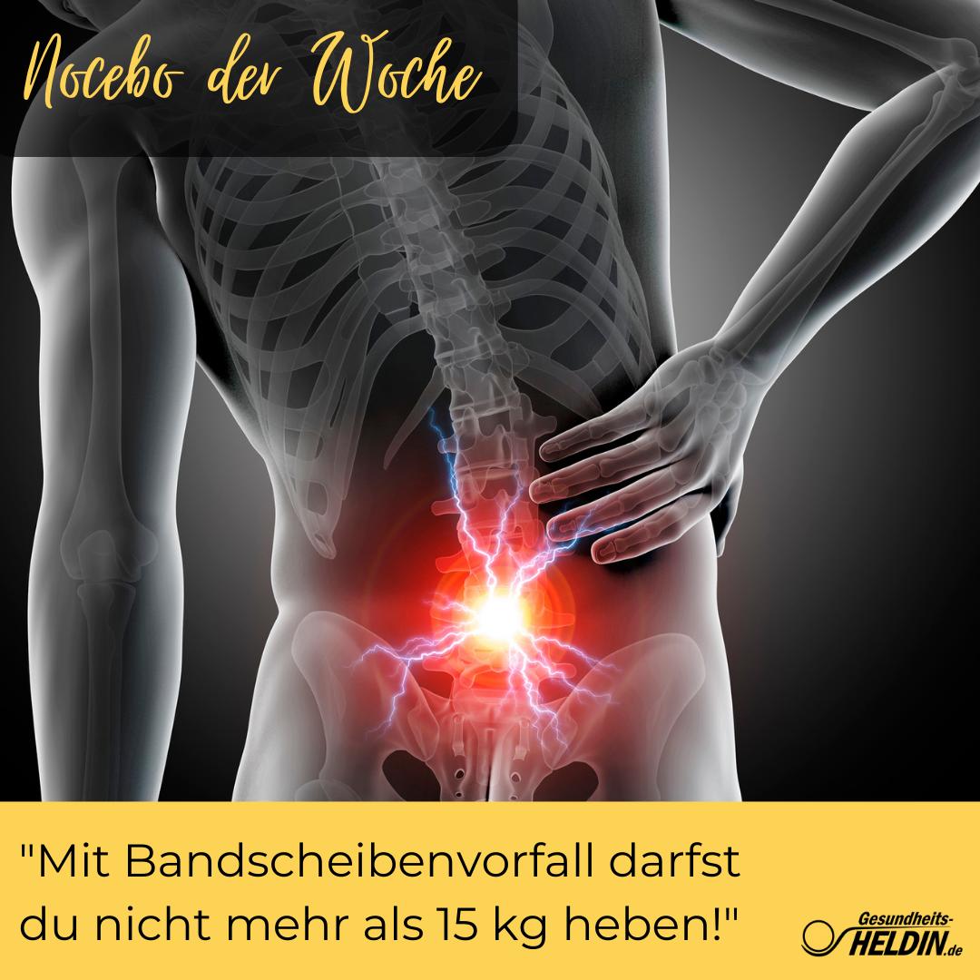 Read more about the article Bandscheibenvorfall – darfst du wirklich nicht mehr als 15 kg heben?