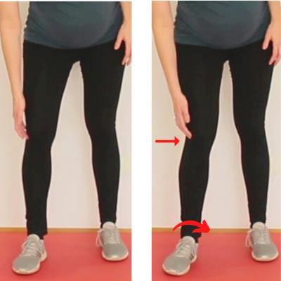 Fußstabilität Patellaspitzensyndrom