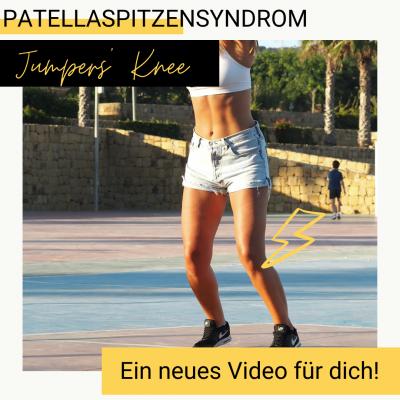 Patellaspitzensyndrom Therapie neues Video