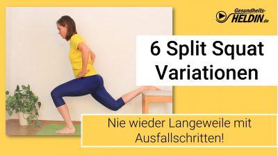 Split Squat Variationen