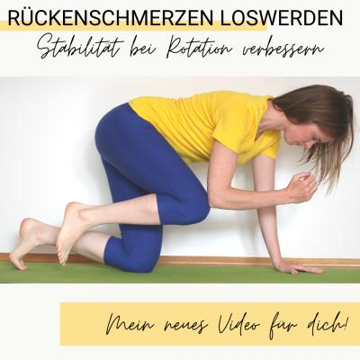 Rückenschmerzen Lendenwirbelsäule Übungen Rotation